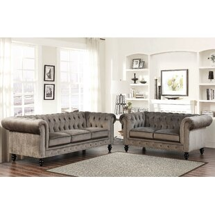 Bargain Brooklyn 2 Piece Living Room Set by Mistana Reviews (2019) & Buyer's Guide