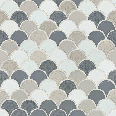 Shaw Floors Victoria 18 X 18 Ceramic Mosaic Tile In Warm Blend