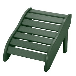 Edgin Foot Rest Outdoor Ottoman by Charlton Home