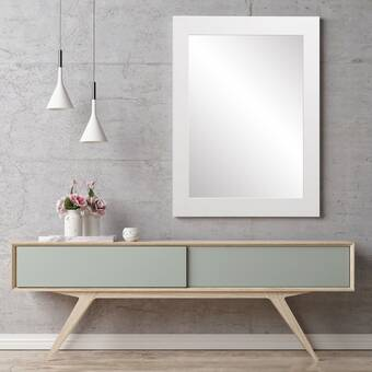 Latitude Run Joshvin Modern Contemporary Beveled Accent Mirror Reviews Wayfair