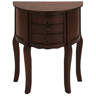 Anne Demilune End Table by Urban Designs 2019 Coupon