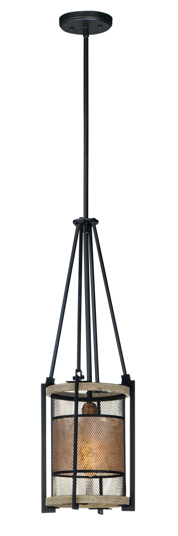 Williston Forge Moreland 1 Light Lantern Cylinder Pendant Wayfair