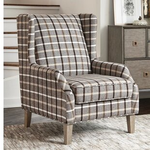 Gracie Oaks Sheraton Vintage Inspired Wingback Chair