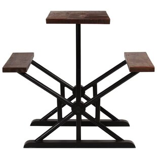 Surya Wooden Picnic Table By Williston Forge