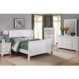 Fasano Full Sleigh 4 Piece Bedroom Set by Charlton Home