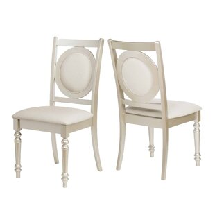 Rosdorf Park Aicha Stylish Upholstered Dining Chair (Set of 2)
