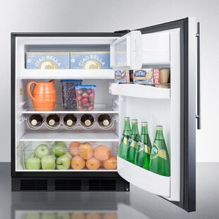 Summit Built-In 24-inch 5.1 cu.ft. Convertible Undercounter Refrigerator with Freezer by Summit Appliance