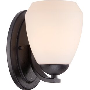 Arminta 1-Light Bath Sconce by Fleur De Lis Living