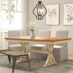 Three Posts Courtdale Extendable Dining Table