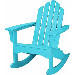Rosecliff Heights Yoshioka Plastic Rocking Adirondack Chair