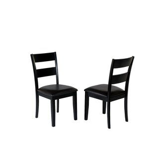 Agustine Solid Wood Dining Chair (Set of 2) by August Grove SKU:EE780468 Description