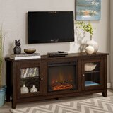 Kohn TV Stand for TVs up to 65 with Electric Fireplace Included by Zipcode Design™
