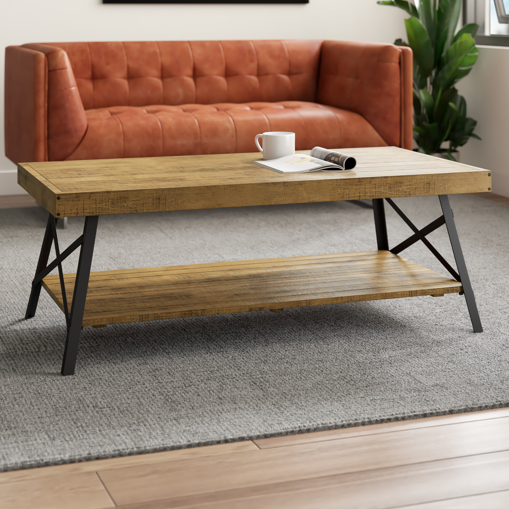 Karley Coffee Table With Storage
