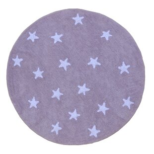 Cielo Hand-Tufted Purple Area Rug by Lorena Canals
