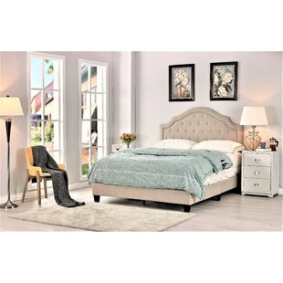 Sklar Upholstered Panel Bed by Charlton Home Coupon
