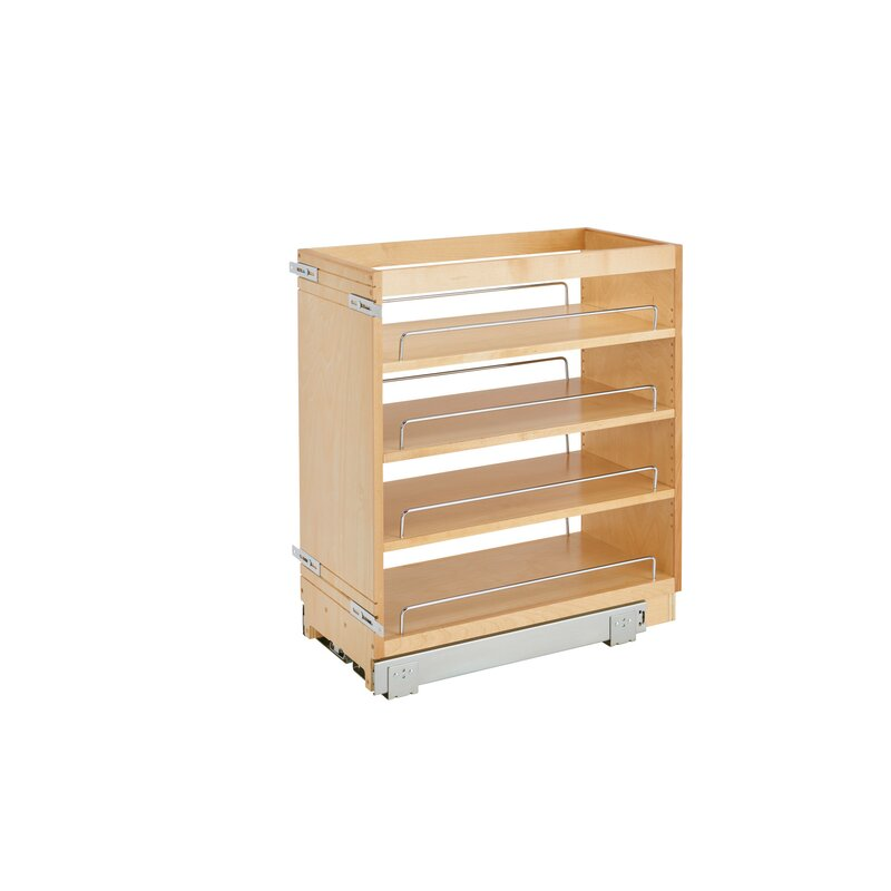 Pull Out Pantry Hardware: Rev-A-Shelf Base Cabinet Organizer Pull Out Pantry
