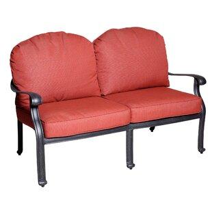 Fleur De Lis Living Thurston Deep Seating Loveseat with Cushion