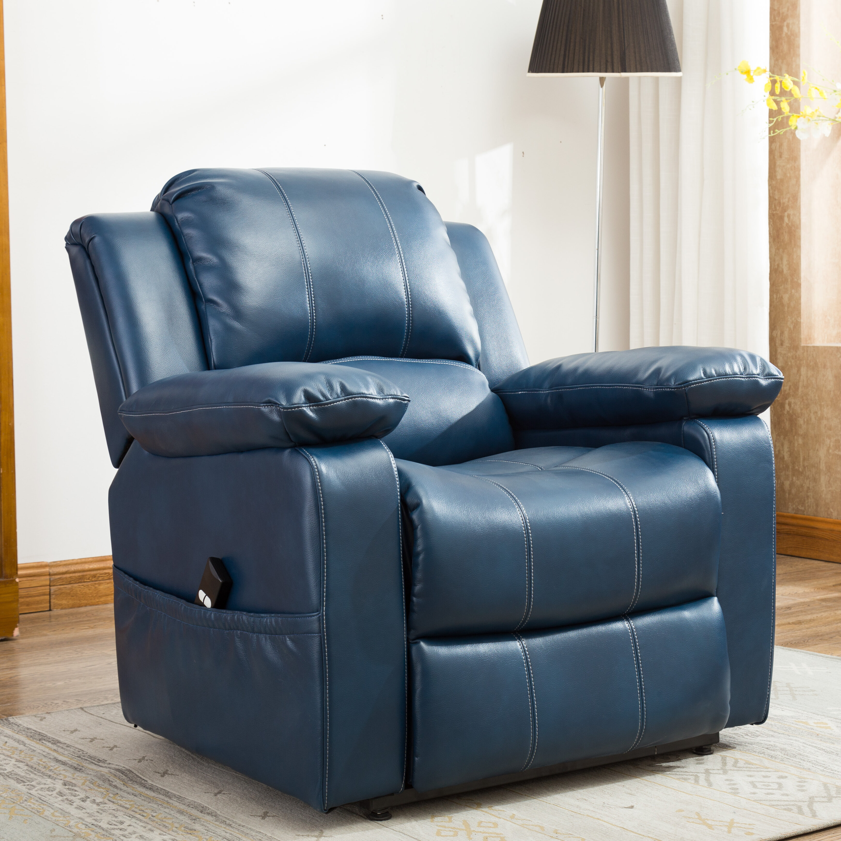 Red Barrel Studio Connolly Faux Leather Power Lift Assist Recliner Reviews Wayfair Ca