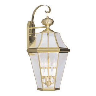 Violetta 4-Light Outdoor Wall Lantern By Darby Home Co Outdoor Lighting