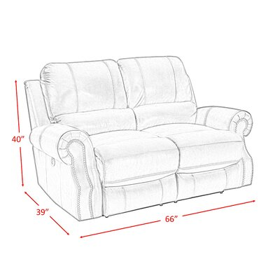 Incredible Red Barrel Studio Crete Power Motion Reclining Loveseat Machost Co Dining Chair Design Ideas Machostcouk