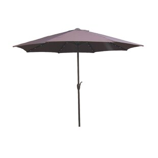 LB International 9' Lighted Umbrella