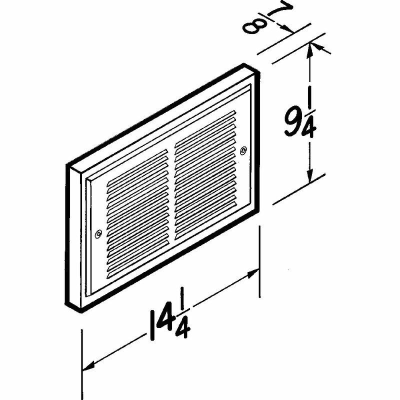 [DIAGRAM_38EU]  Broan Electric Fan Wall Insert Heater   Wayfair   Broan Qp3 Wiring Diagram      Wayfair