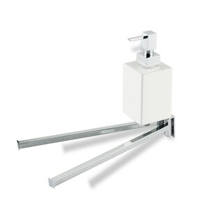 Stilhaus by Nameeks Urania Double Wall Mounted Towel Rack