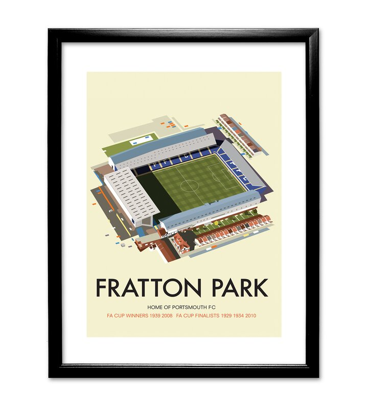 Star Editions Fratton Park Home Of Portsmouth FC By Dave Thompson