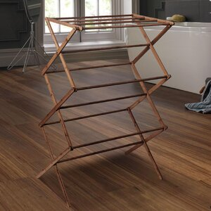 Bamboo Folding Drying Rack