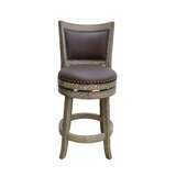 Edwina Bar & Counter Swivel Stool by Darby Home Co