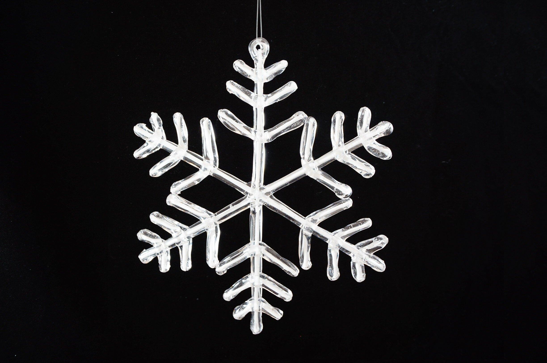 The Holiday Aisle Acrylic Snowflake Holiday Shaped Ornament Wayfair