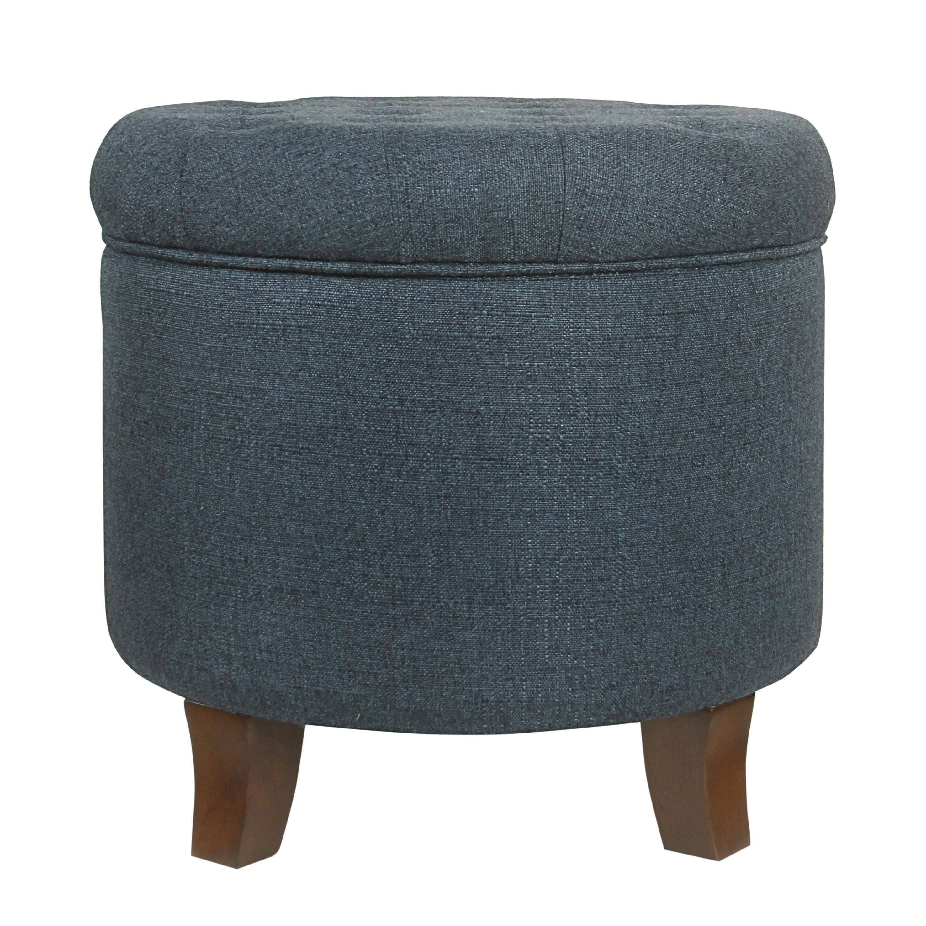 Brilliant Poston Tufted Storage Ottoman Short Links Chair Design For Home Short Linksinfo
