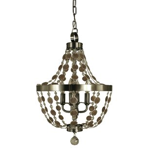 Framburg Naomi 4-Light Empire Chandelier