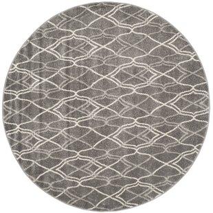 Falstaff Gray Indoor/Outdoor Area Rug by Ebern Designs