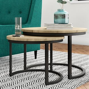 Cali 2 Piece Nest Of Tables By Ebern Designs
