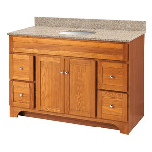 Deanfield 49 Single Bathroom Vanity Set