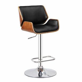 Dempster Adjustable Height Swivel Bar Stool by Bromi Design