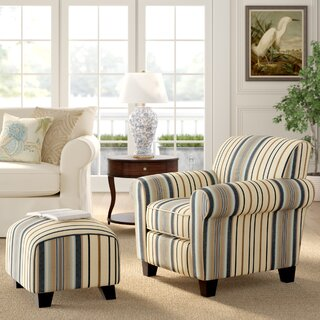 Aine Armchair and Ottoman by Andover Mills SKU:DB322820 Guide