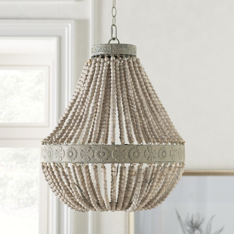 Radnor 3 - Light Unique / Statement Empire Chandelier from Kelly Clarkson Home collection - come see more French country decor and furniture goodness on Hello Lovely! #frenchcountry #furniture #homedecor #kellyclarksonhome #chandeliers