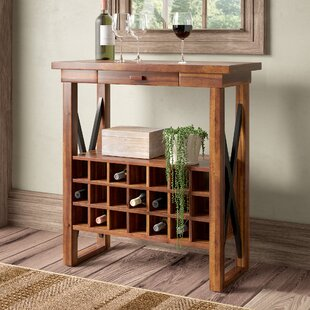 Hargrove 20 Bottle Floor Wine Rack by Loo..
