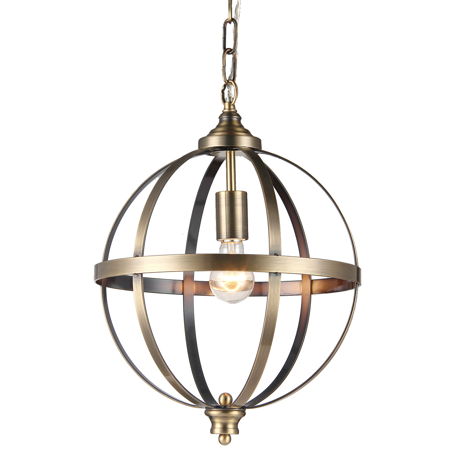 Eberhart Salle De Bain eberhart 1-light single globe pendant