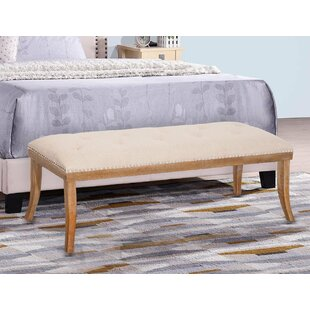 Friedell Wood Bench by Ophelia & Co.