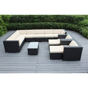 Konen 12 Piece Sectional Set with Cushions by Bayou Breeze