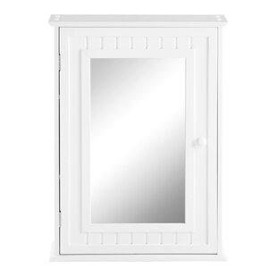 Fishman 48cm X 66cm Surface Mount Mirror Cabinet By Belfry Bathroom