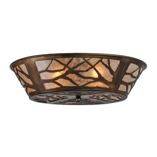 Meyda Tiffany Branches 4-Light Flush Mount