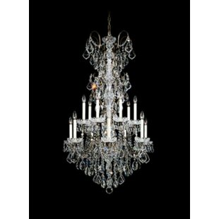 New Orleans 14-Light Chandelier by Schonbek