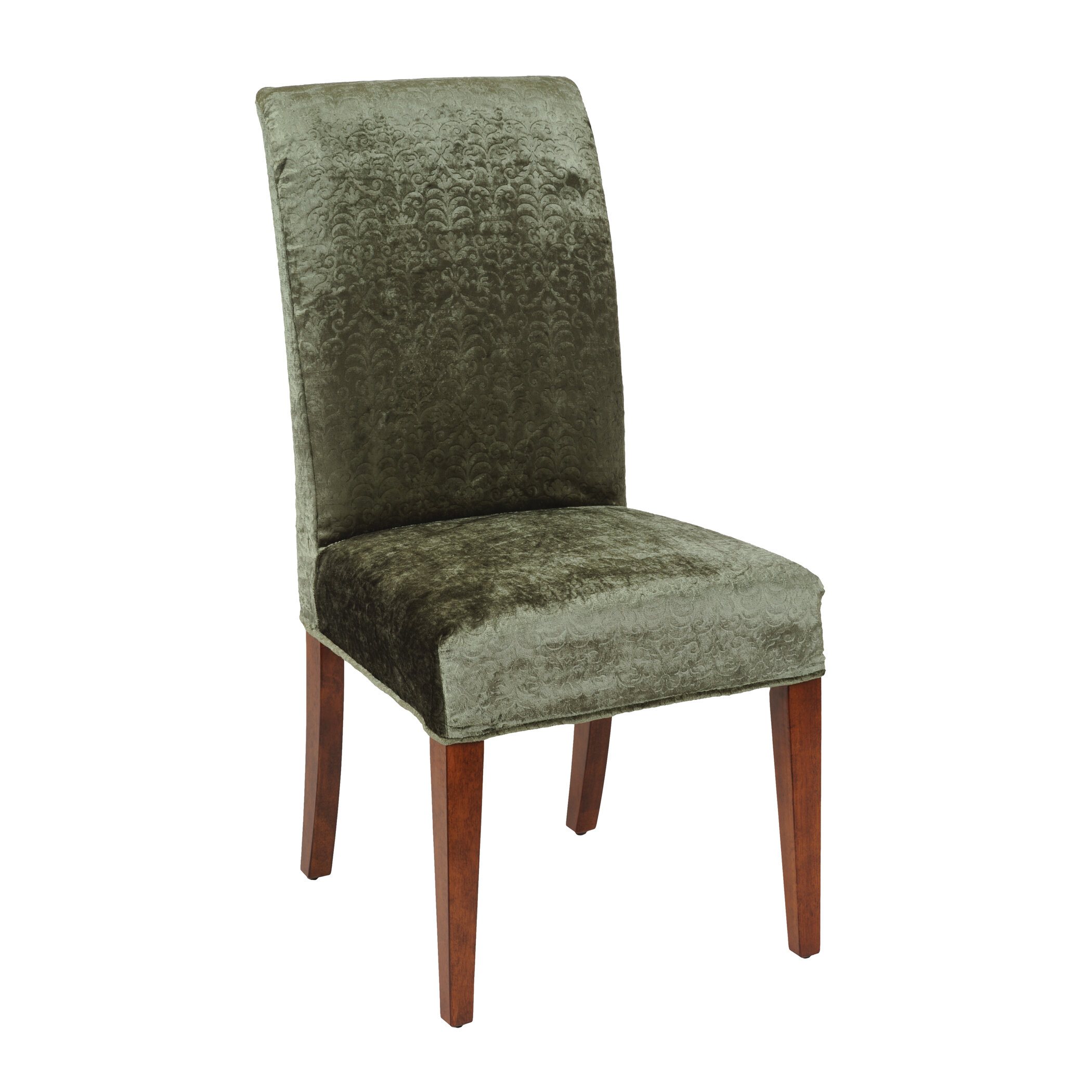 Bailey Street Couture Covers™ Parsons Chair Slipcover U0026 Reviews | Wayfair