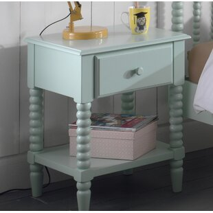 Alana 1 Drawer Bedside Table by Vipack
