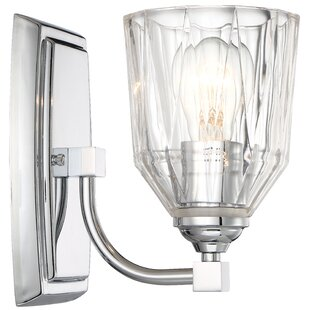 Langlois 1-Light Bath Sconce b..