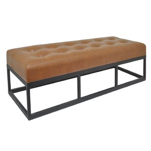 Amorita Upholstered Bench by 17 Stories